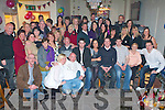 SURPRISE: Tanya Moriarty, Lisanearla (seated 5th right) got a lovely surprise when a very large group of family and friends got together to celebrate her 40th birthday at the Slieve Mish bar on Saturday.   Copyright Kerry's Eye 2008