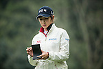 Seon Woo Bae of South Korea tees off at the 14th hole during Round 2 of the World Ladies Championship 2016 on 11 March 2016 at Mission Hills Olazabal Golf Course in Dongguan, China. Photo by Victor Fraile / Power Sport Images