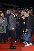 Omar Sy attending the &quot;Inferno&quot; premiere held at CineStar, Sony Center, Potsdamer Platz, Berlin, Germany, 10.10.2016. <br /> Photo by Christopher Tamcke/insight media /MediaPunch ***FOR USA ONLY***