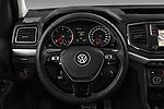 Car pictures of steering wheel view of a 2017 Volkswagen Amarok Aventura 4 Door Pick Up