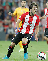 Athletic de Bilbao's Pedro Rodriguez during Supercup of Spain 1st match.August 14,2015. (ALTERPHOTOS/Acero)