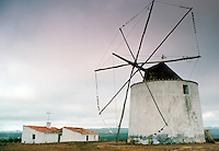 Windmill with removed sails, Portugal