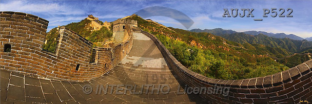 Dr. Xiong, LANDSCAPES, panoramic, photos, The Great Wall, Bejing, China(AUJXP522,#L#)