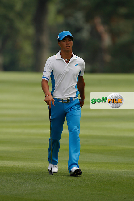 RYO Ishikawa (JAP) playing the 11th on day 2 of the World Golf Championship Bridgestone Invitational, from Firestone Country Club, Akron, Ohio. 5/8/11.Picture Fran Caffrey www.golffile.ie