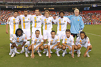Los Angeles Galaxy starting eleven. Los Angeles Galaxy defeated DC United 5-2, Saturday, August 26, 2006 at RFK Stadium.