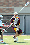 Orange, CA 05/02/10 - AJ Redford (ASU # 29) in action during the Chapman-Arizona State MCLA SLC Division I final at Wilson Field on Chapman University's campus.  Arizona State defeated Chapman 13-12 in overtime.