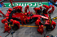 16th July 2020, Hungaroring, Budapest, Hungary; F1 Grand Prix of Hungary, drivers arrival and track inspection day;  Mechanic of Scuderia Ferrari Mission Winnow