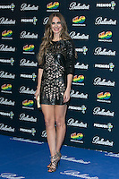Vanessa Romero attend the 40 Principales Awards at Barclaycard Center in Madrid, Spain. December 12, 2014. (ALTERPHOTOS/Carlos Dafonte) /NortePhoto