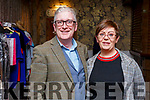 Danny Lane and May Harris at the Fashion Show in aid of Kerry Hospice in the Rose Hotel on Thursday night.