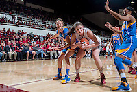Stanford, CA, January 24, 2014<br /> Stanford Women's Basketball versus UCLA at Stanford. Stanford won 72-55