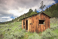Line shack in Freemont National Forest. Oregon