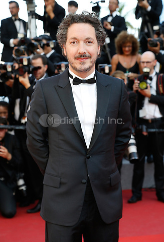 Guillaume Gallienne arrives to attend the closing ceremony of the 70th Annual Cannes Film Festival at Palais des Festivals in Cannes, France, on 28 May 2017. <br />