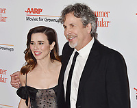 BEVERLY HILLS, CA - FEBRUARY 04: Linda Cardellini (L) and Peter Farrelly attend the 18th Annual AARP The Magazine's Movies For Grownups Awards at the Beverly Wilshire Four Seasons Hotel on February 04, 2019 in Beverly Hills, California.<br /> CAP/ROT/TM<br /> &copy;TM/ROT/Capital Pictures