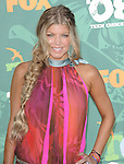 Fergie at the Teen Choice Awards 2008 arrivals at the Gibson amphitheatre at Universal City Walk, Ca. August 3, 2008. Fitzroy Barrett