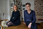 13/03/2017, BERLIN.<br /> <br /> Filmmakers Sylvia Holzinger and Peter Haas