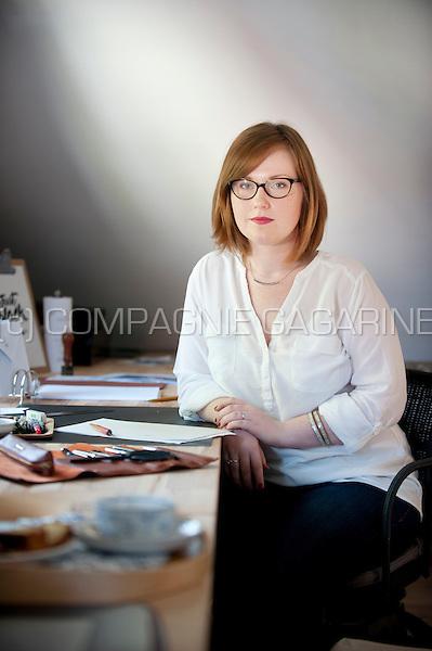 The Ante Scriptum calligraphy studio in Rebecq (Belgium, 03/08/2015)