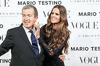 Vogue December Issue Mario Testino Party - Madrid 2012