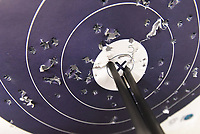 NWA Democrat-Gazette/FLIP PUTTHOFF <br /> Bowen shoots with amazing accuracy     March 2018    at the target range or the deer woods.