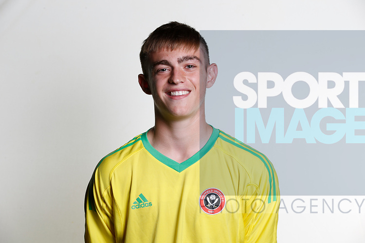 Marcus Dewhurst academy photocall at the Steelphalt Academy, Sheffield. Picture date 22nd August 2017. Picture credit should read: Simon Bellis/Sportimage