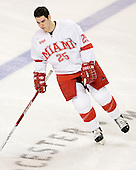 Mitch Ganzak - The Boston College Eagles defeated the Miami University Redhawks 5-0 in their Northeast Regional Semi-Final matchup on Friday, March 24, 2006, at the DCU Center in Worcester, MA.