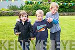 Ciara, Conor and Thomas McCafferty from Annascaul enjoying the Annascaul BeerFest on Saturday afternoon.