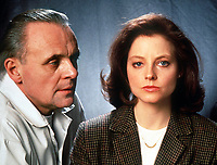 The Silence of the Lambs (1991) <br /> Promo shot of Jodie Foster &amp; Anthony Hopkins<br /> *Filmstill - Editorial Use Only*<br /> CAP/KFS<br /> Image supplied by Capital Pictures