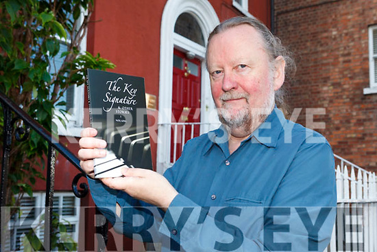 Noel King from Tralee pictured with his newly launched book 'The Key Signature & other Stories'.