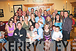 1124-1129.---------.New baby.--------.Anthony O'Shea and Bianca Denieola from Oakview village,Tralee,celebrated the Christening of their precious new baby Dominic by Fr Patsy Lynch in St Brendan's church last Saturday evening and after to a family party in Stoker's Lodge bar/restaurant Oakpark,Tralee.