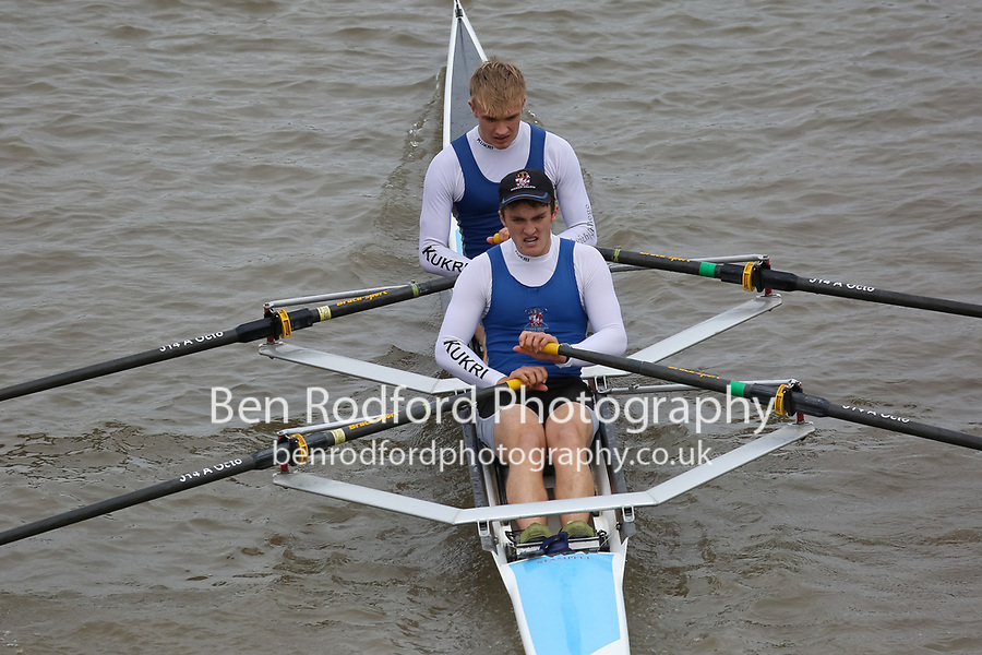Crew: 161   DUL-ELLISON    Dulwich College Boat Club    Op J18 2x Fresher <br /> <br /> Pairs Head 2017<br /> <br /> To purchase this photo, or to see pricing information for Prints and Downloads, click the blue 'Add to Cart' button at the top-right of the page.