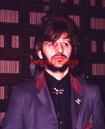 Beatles 1972 Ringo Starr At Born To Boogie PremiereC Chris Walter