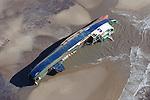 Riverdance on Cleveleys Beach: Aerial Views