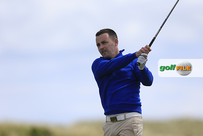 Daniel Holland (Castle) during the 2nd round of the East of Ireland championship, Co Louth Golf Club, Baltray, Co Louth, Ireland. 03/06/2017<br /> Picture: Golffile | Fran Caffrey<br /> <br /> <br /> All photo usage must carry mandatory copyright credit (&copy; Golffile | Fran Caffrey)