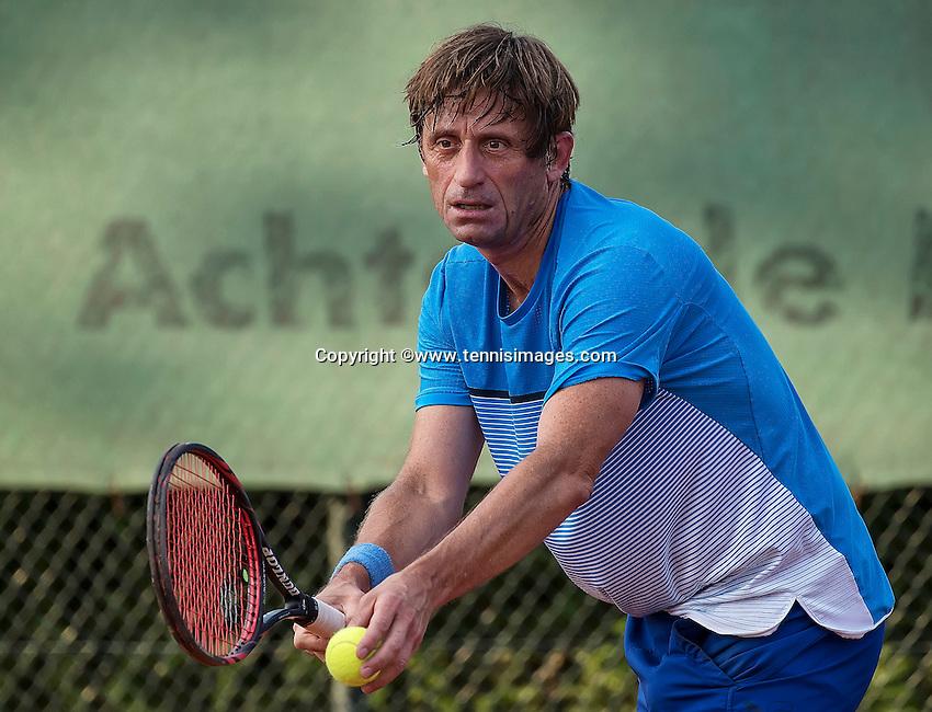 Etten-Leur, The Netherlands, August 23, 2016,  TC Etten, NVK, Hans van den Brande (NED)<br /> Photo: Tennisimages/Henk Koster