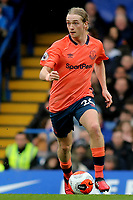 Tom Davies of Everton in action during Chelsea vs Everton, Premier League Football at Stamford Bridge on 8th March 2020