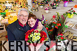 Tony and Mary Ennis who are retiring from their flower business which they started on 1980.