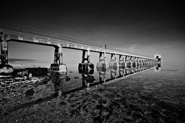 One of the crew removes the last of their belongings during the final days of the old Bembridge Lifeboat Station.<br />