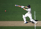 25th March 2018, Auckland, New Zealand;  Henry Nicholls batting.<br /> New Zealand versus England. 1st day-night test match. Eden Park, Auckland, New Zealand. Day 4