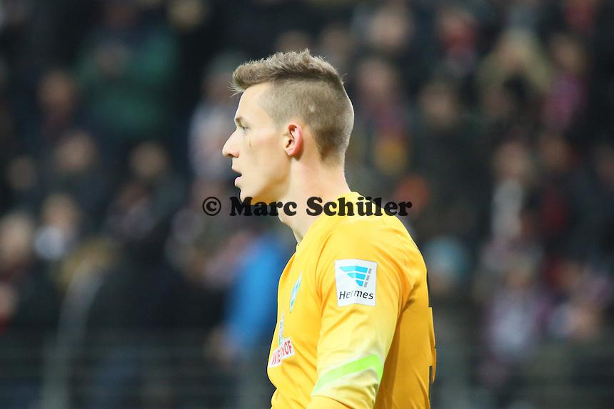 Richard Strebinger (Werder) - Eintracht Frankfurt vs. SV Werder Bremen, Commerzbank Arena