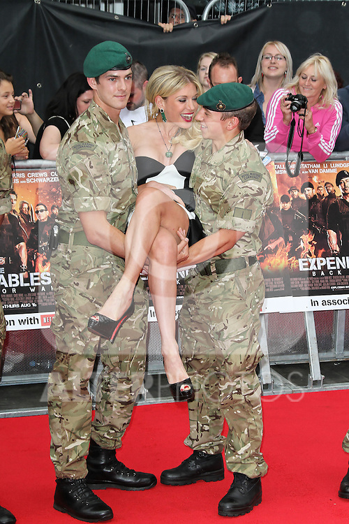 LONDON - AUGUST 13: Hofit Golan attended the UK Film Premiere of 'The Expendables 2', Leicester Square, London, UK. August 13, 2012. (Photo by Richard Goldschmidt) /NortePhoto.com.... **CREDITO*OBLIGATORIO** *No*Venta*A*Terceros*..*No*Sale*So*third* ***No*Se*Permite*Hacer Archivo***No*Sale*So*third*