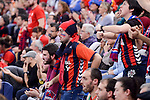Baskonia's supporters during Semi Finals match of 2017 King's Cup at Fernando Buesa Arena in Vitoria, Spain. February 18, 2017. (ALTERPHOTOS/BorjaB.Hojas)