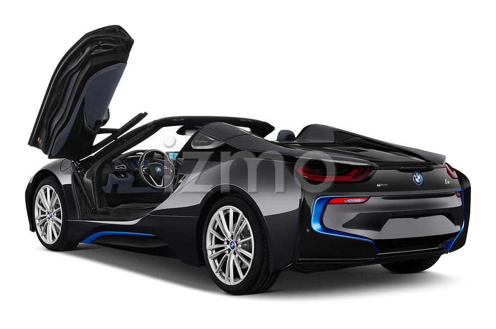 Car images close up view of a 2019 BMW i8 Base 2 Door Convertible doors