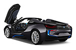 Car images close up view of a 2019 BMW i8 Base 2 Door Convertible doors