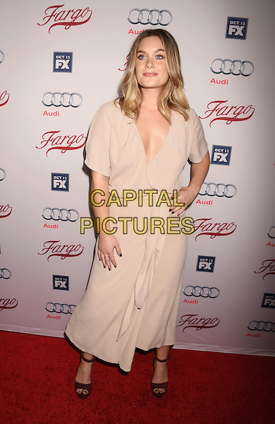 HOLLYWOOD, CA - OCTOBER 07: Actress Rachel Keller attends the premiere of FX's 'Fargo' Season 2 held at ArcLight Cinemas on October 7, 2015 in Hollywood, California.<br /> CAP/ROT/TM<br /> &copy;TM/ROT/Capital Pictures