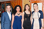 Igor Sandrea, Marie Sandrea, karolina Kristofova and Libusz Duxickova Killarney at the Miss Kerry selection in the Plaza Hotel Killarney on Saturday night