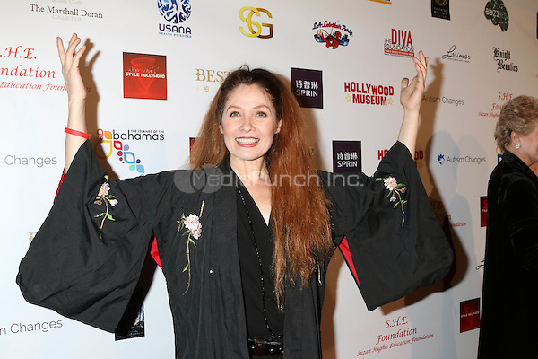 HOLLYWOOD, CA - FEBRUARY 26: Khrystyne Haje at the Style Hollywood Oscar Viewing Party at the Hollywood Museum in Hollywood, California on February 26, 2017. Credit: David Edwards/MediaPunch