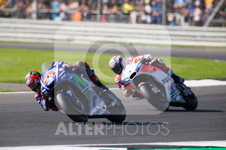 MAVERICK VINALES - SPANISH - MOVISTAR YAMAHA MotoGP - YAMAHA<br /> ANDREA DOVIZIOSO - ITALIAN - DUCATI TEAM - DUCATI