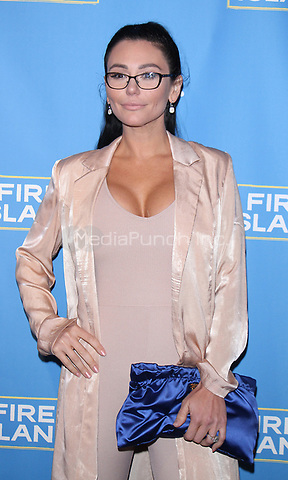 "NEW YORK, NY April 20, 2017  Jenni ""JWOWW Farley attend Logo's Fire Island Premiere Party  at Atlas Social Club  in New York April 20,  2017. Credit:RW/MediaPunch"