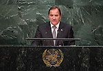 Statement <br /> by His Excellency Stefan L&ouml;fven, Prime Minister of the Kingdom of Swede