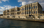 Ciragin Pallace, Kempinski Hotel from Bosporus, Istanbul, Turkey