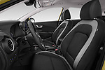 Front seat view of a 2018 Hyundai Kona Twist 5 Door SUV front seat car photos